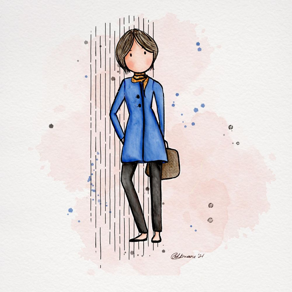 Working girl - image 2 - student project