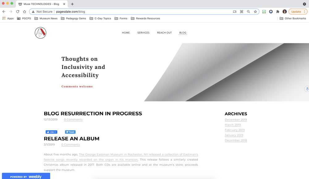 Small Business Site - image 4 - student project