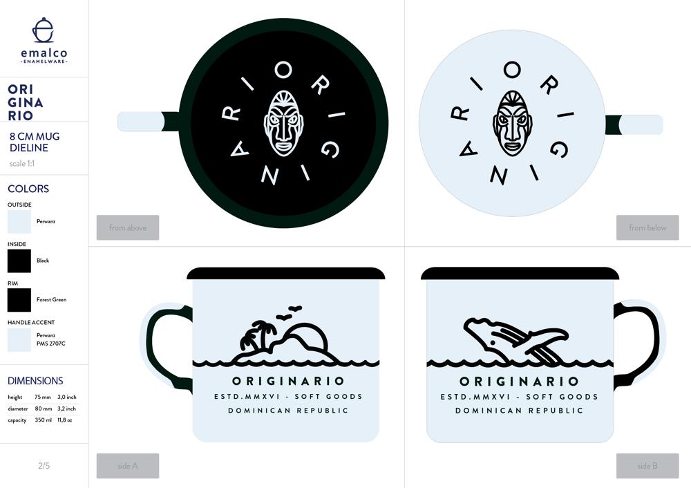 Originario Mug - image 1 - student project