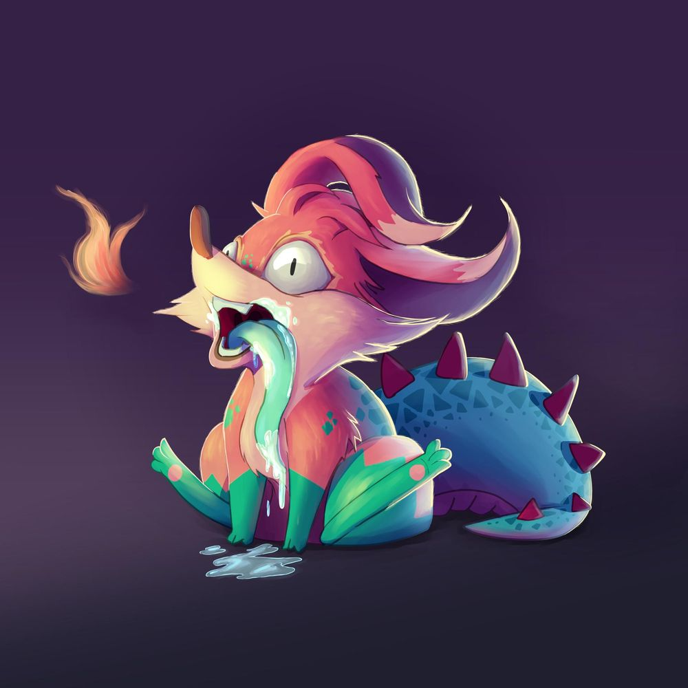 Lil' Fox Monster - image 1 - student project
