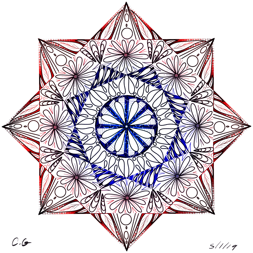 My very first Mandala - image 1 - student project