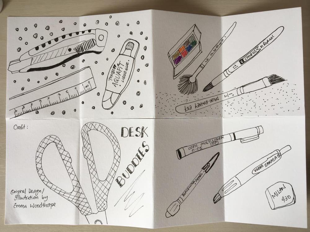 One-Sheet Zine - image 1 - student project