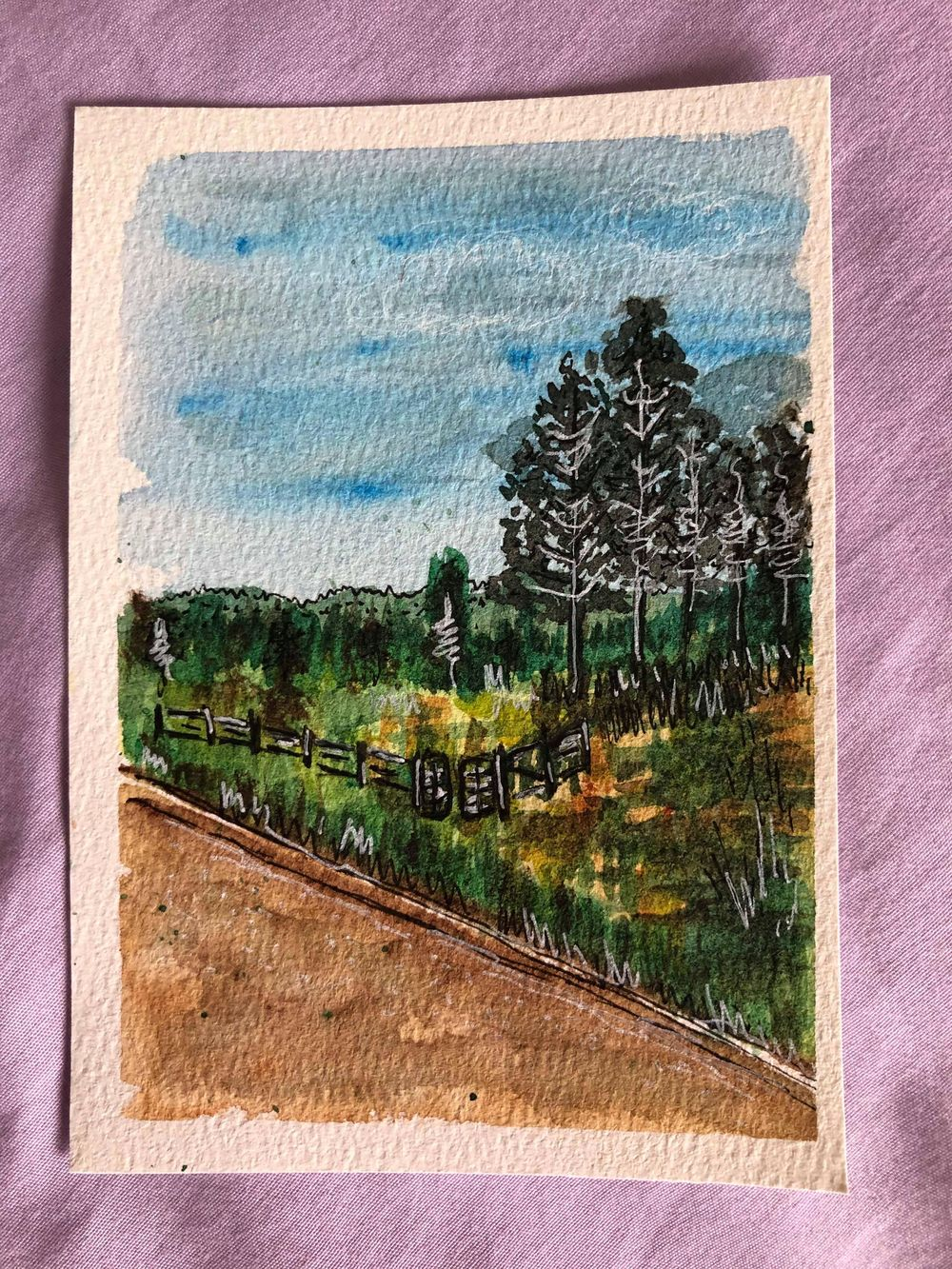 Landscapes - image 3 - student project