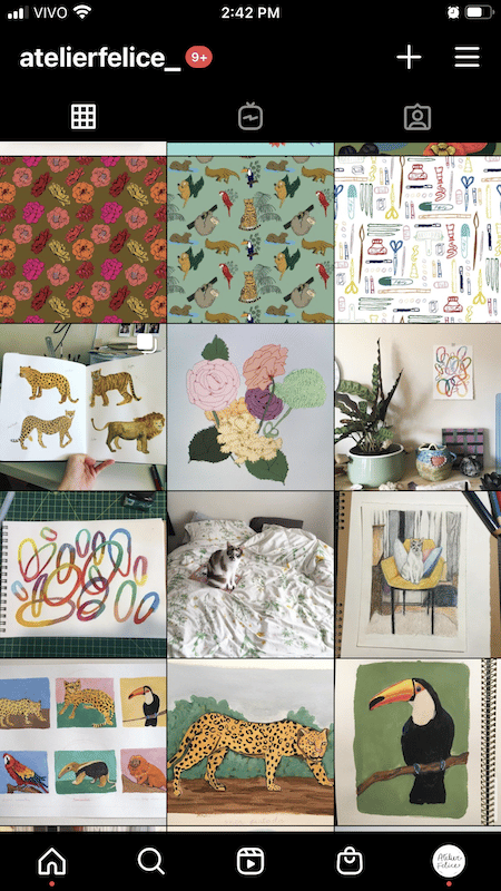 instagram feed review - image 3 - student project