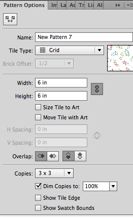 Spacing issues in Pattern tool - image 2 - student project