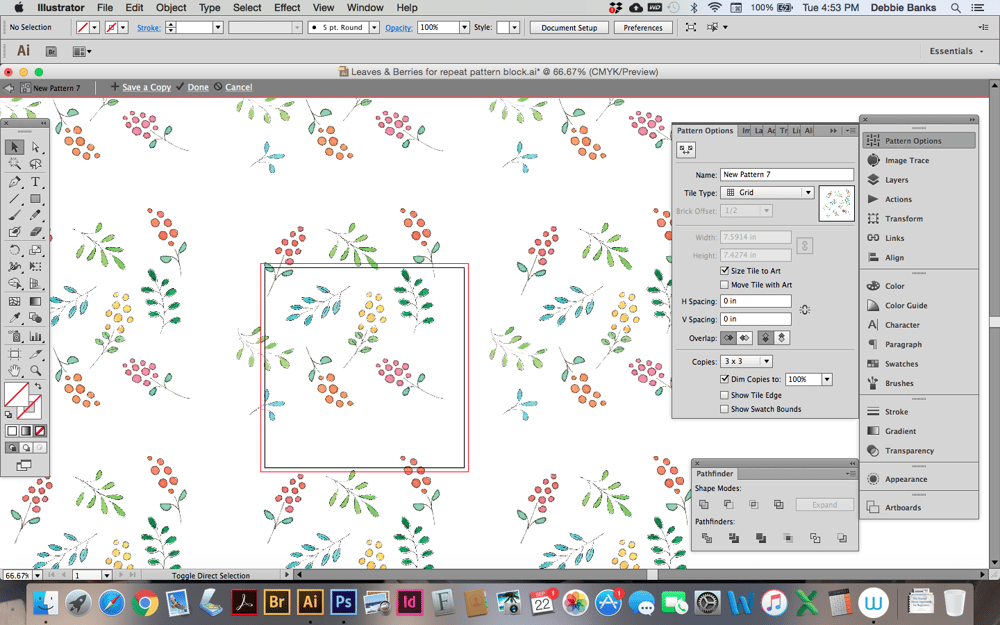 Spacing issues in Pattern tool - image 3 - student project