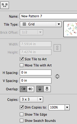 Spacing issues in Pattern tool - image 1 - student project