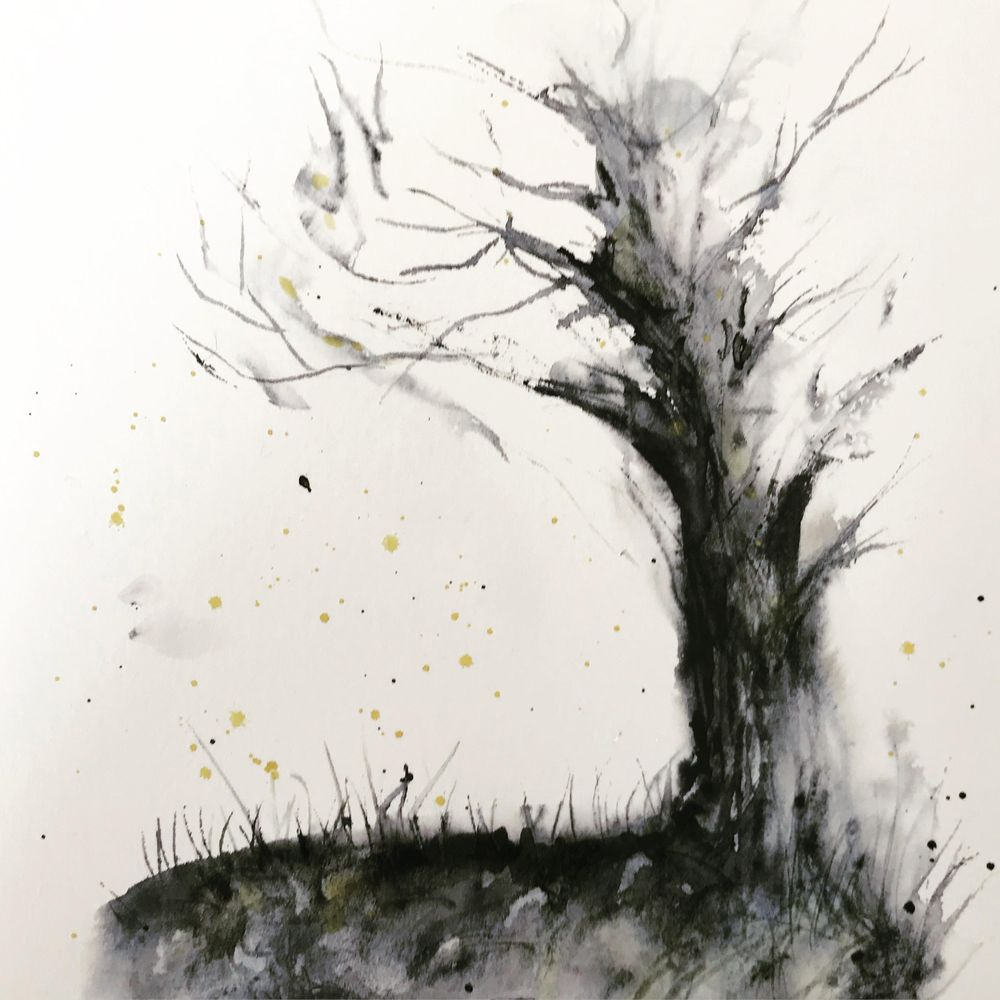 Winter Tree - image 1 - student project
