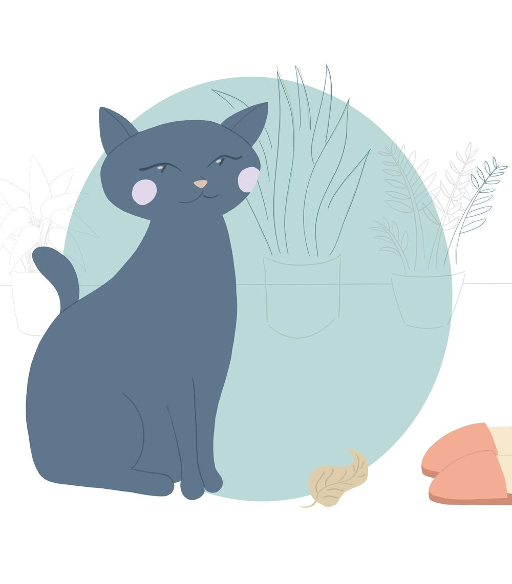 Cat brings offering - image 2 - student project