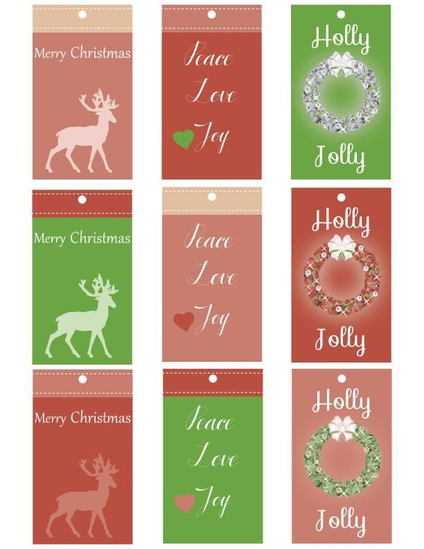 Christmas Tags - image 1 - student project