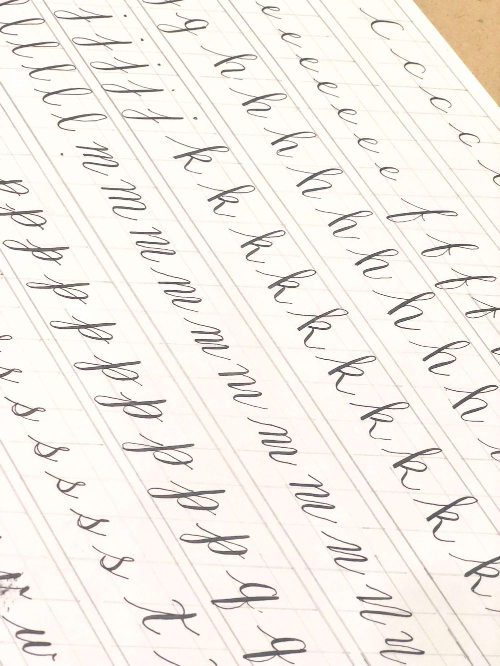 Modern Calligraphy: Pointed Pen Basics - image 3 - student project