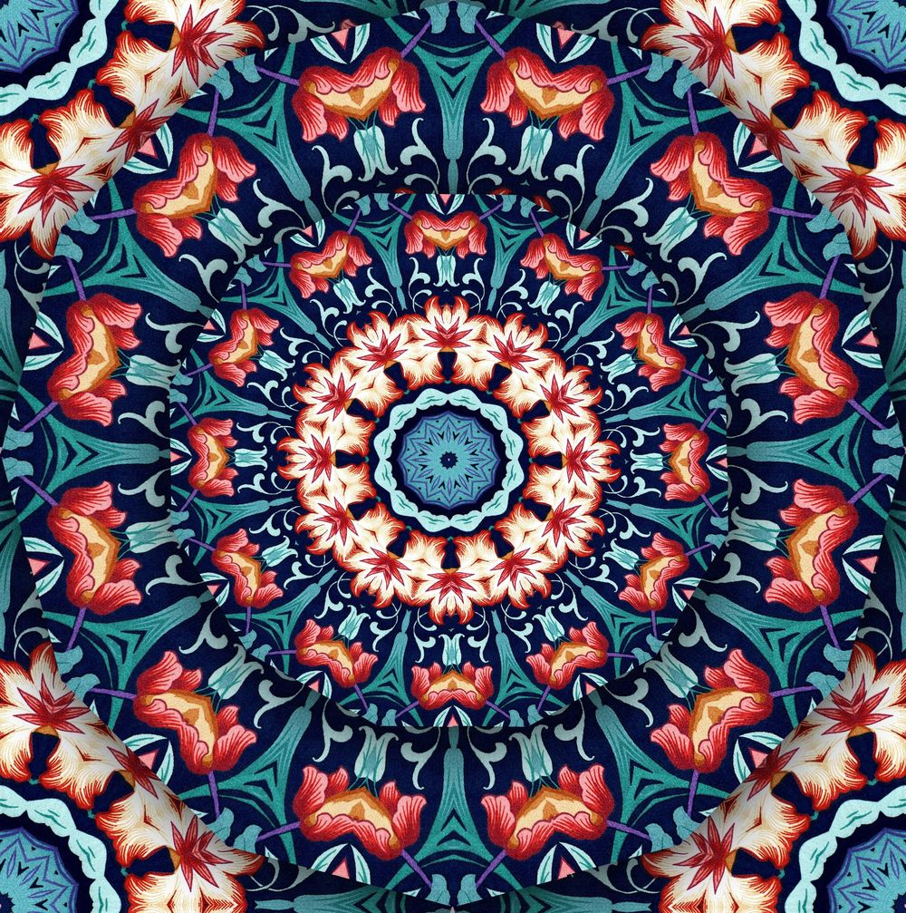 Kaleidoscopes and Mandalas - image 3 - student project
