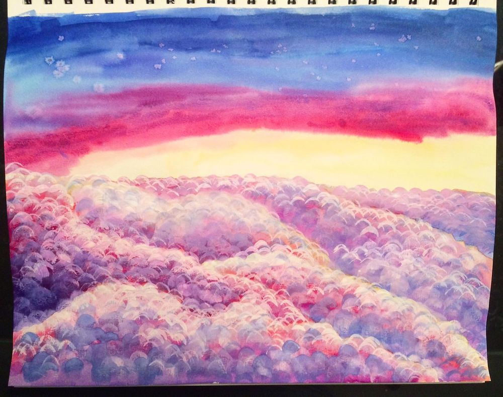 Marlys' Watercolor Projects - image 5 - student project