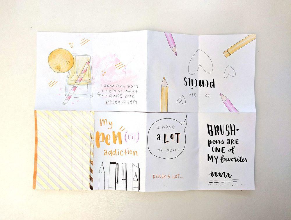 Making Your First Zine: From Idea to Illustration - image 5 - student project