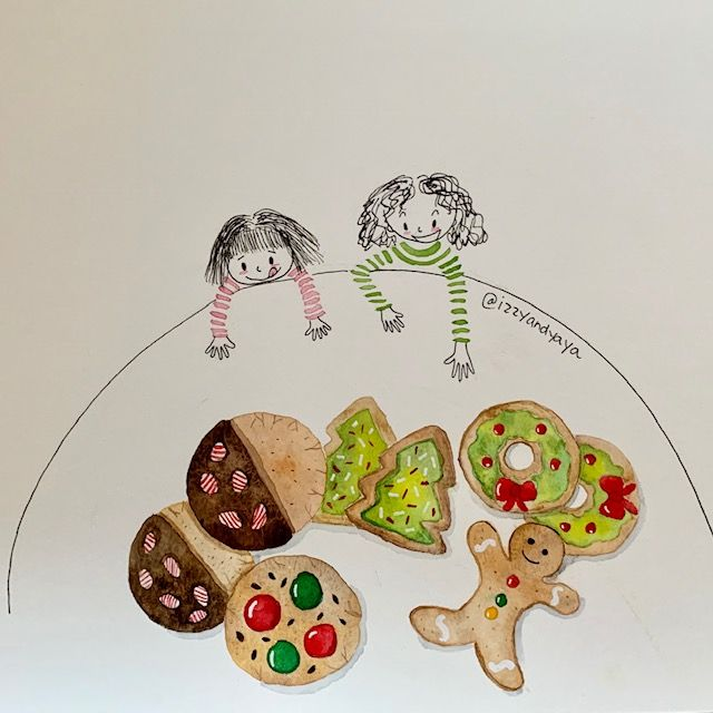 Christmas Cookies for Izzy and Yaya - image 1 - student project