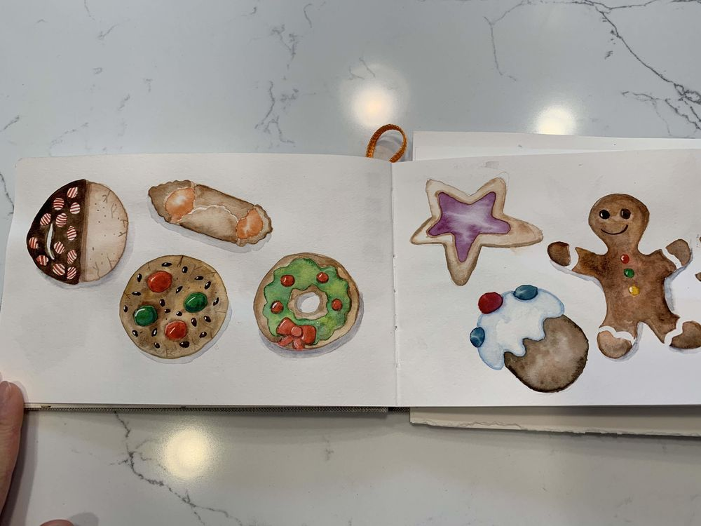 Christmas Cookies for Izzy and Yaya - image 2 - student project