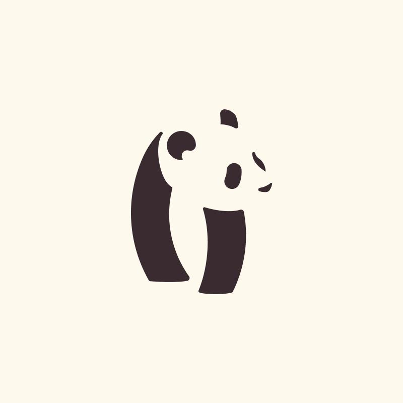 Panda logo - image 1 - student project