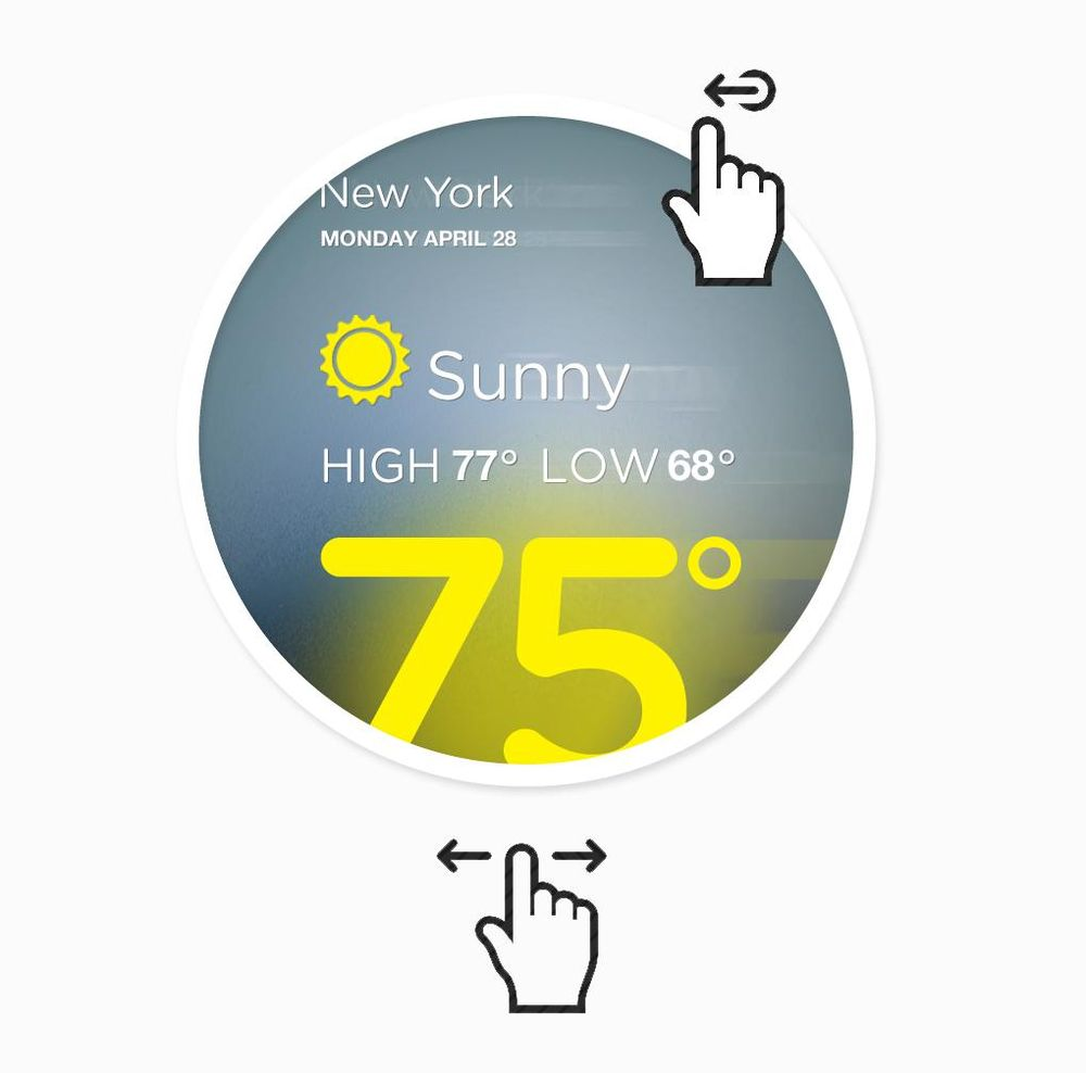 Temp Weather App - image 9 - student project