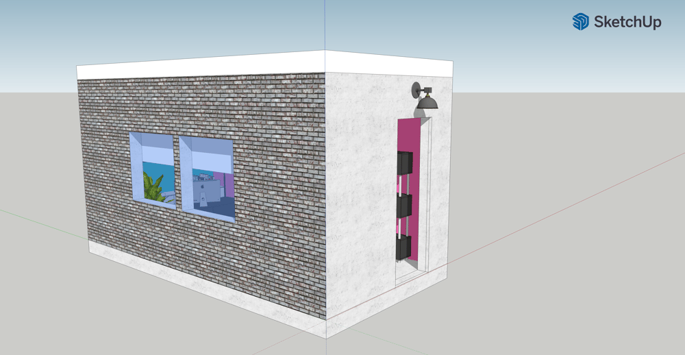 Tiny Home: Office Model 2021 by: Shannah Brown - image 3 - student project