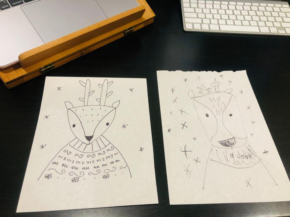 Drawing with my kids - image 2 - student project