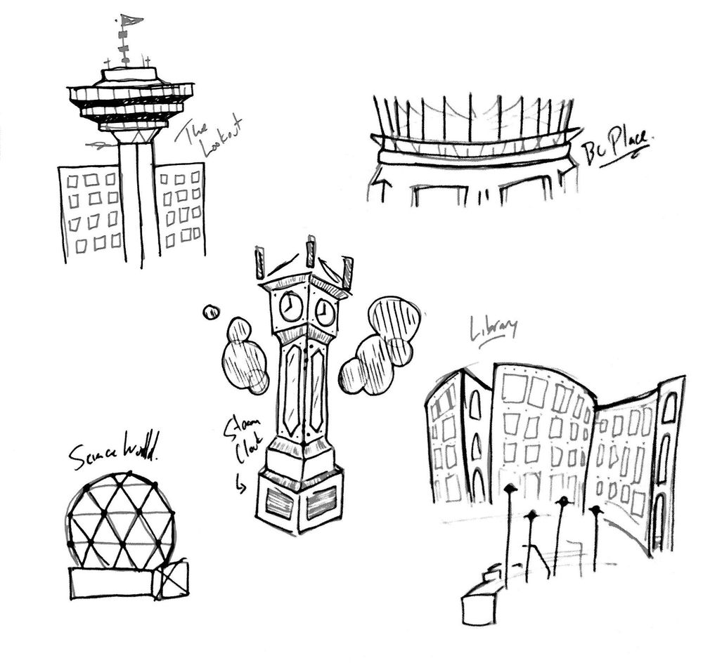 Vancouver Map Icons - image 6 - student project