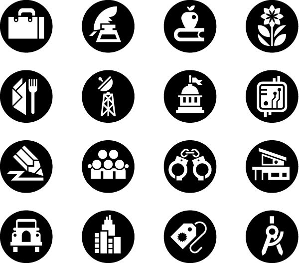 Vancouver Map Icons - image 5 - student project