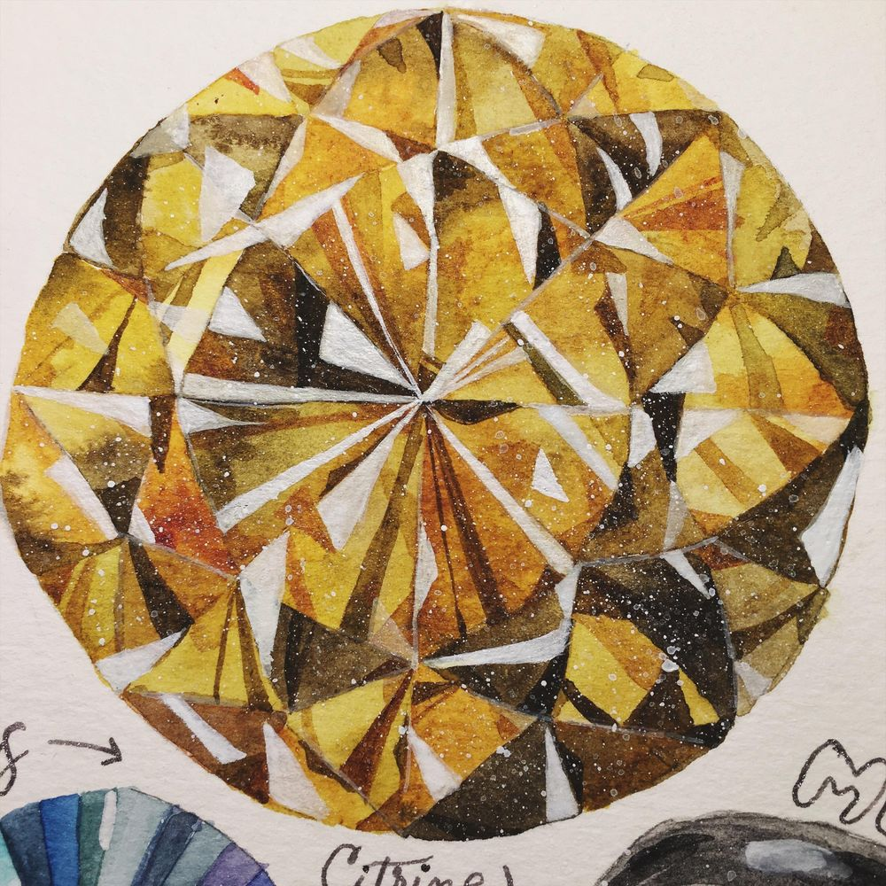 Practice & beautiful citrine gem! - image 3 - student project