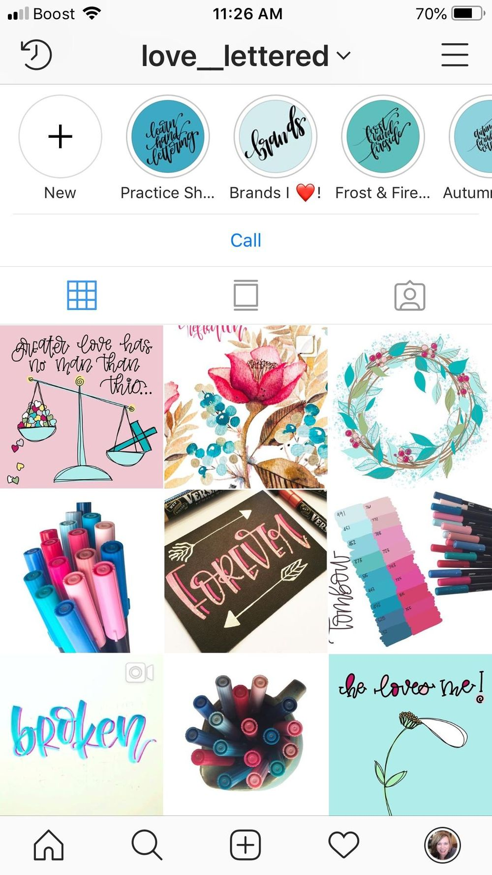My new cohesive IG art account - image 1 - student project