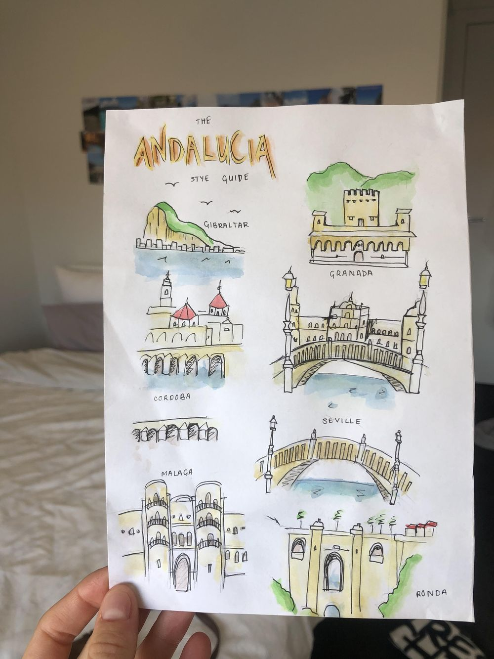 My Andalucia Style guide - image 1 - student project