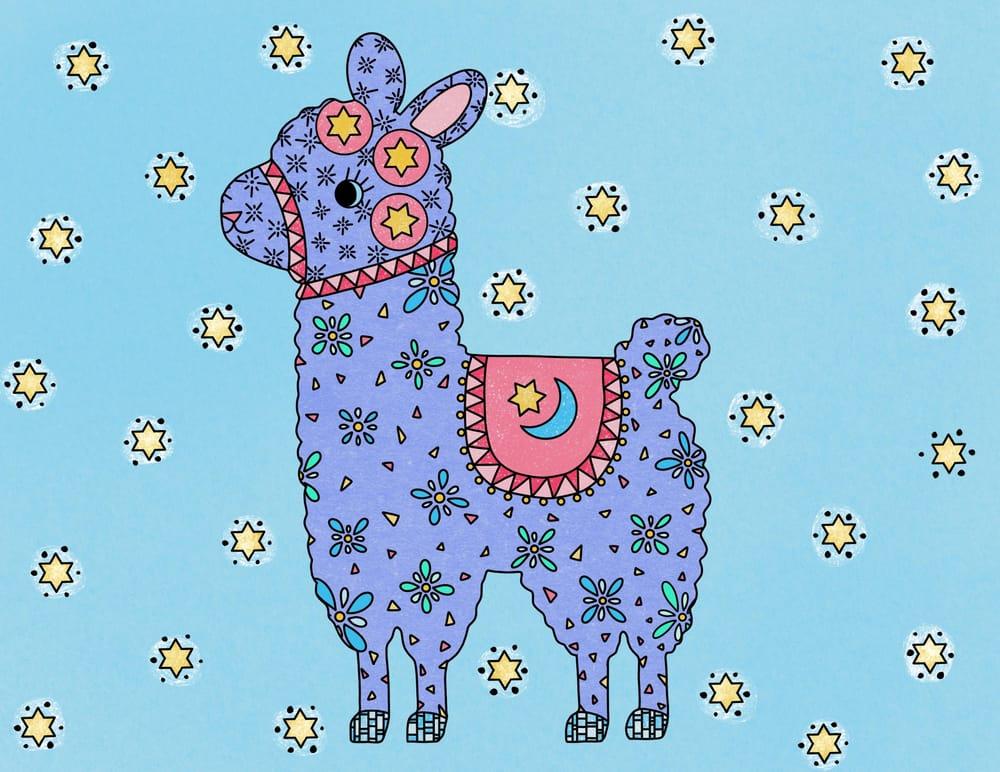 Llama - image 2 - student project