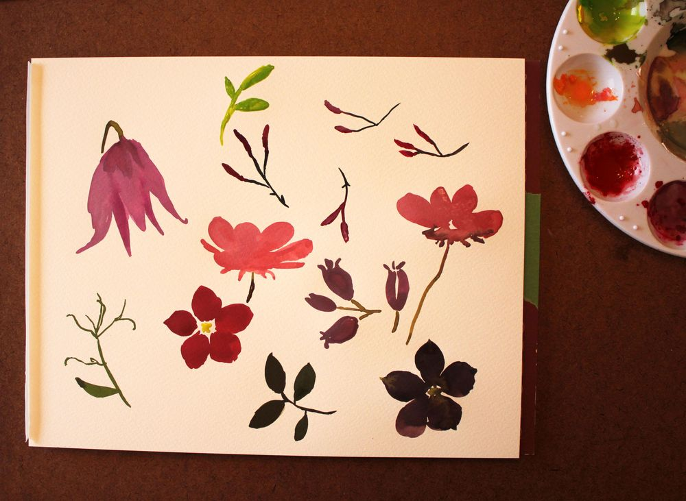 Wildflower Repeat + new mockups - image 1 - student project