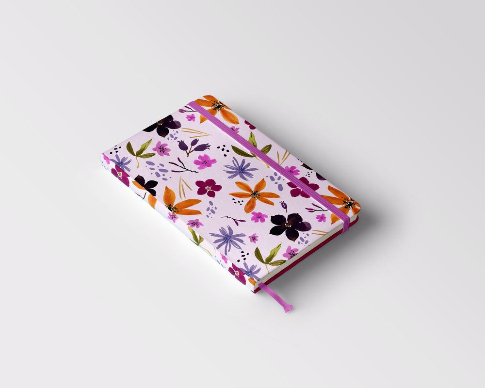 Wildflower Repeat + new mockups - image 9 - student project