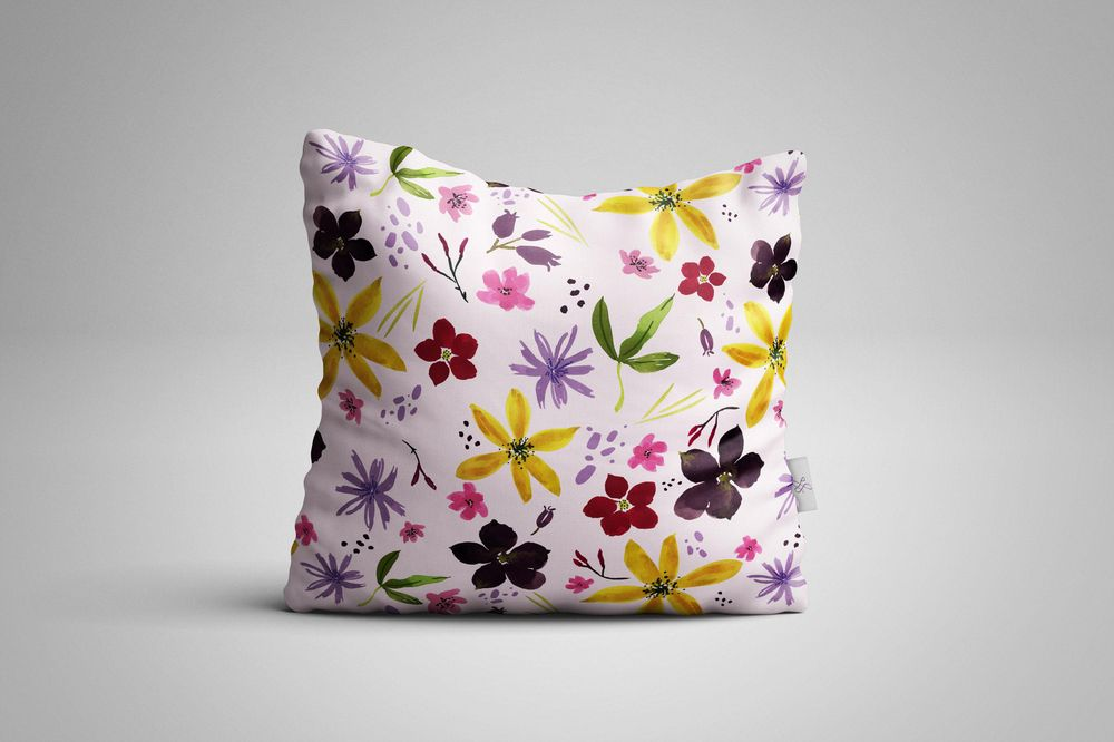 Wildflower Repeat + new mockups - image 7 - student project