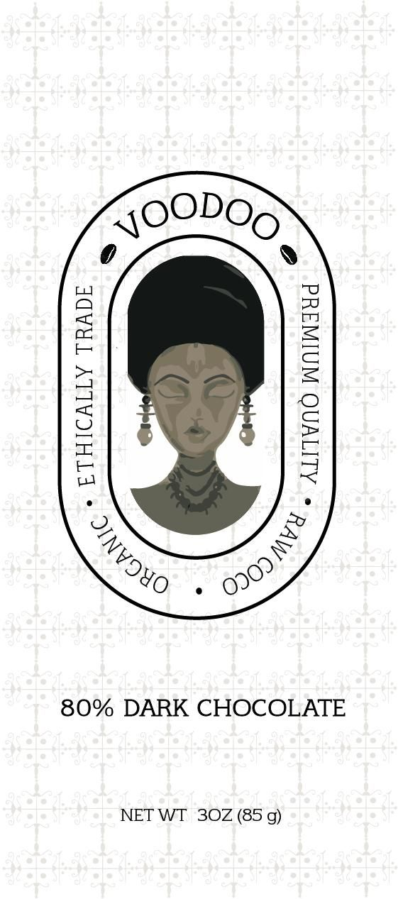 Circular logo - VOODOO - Cocoa Brand - image 1 - student project
