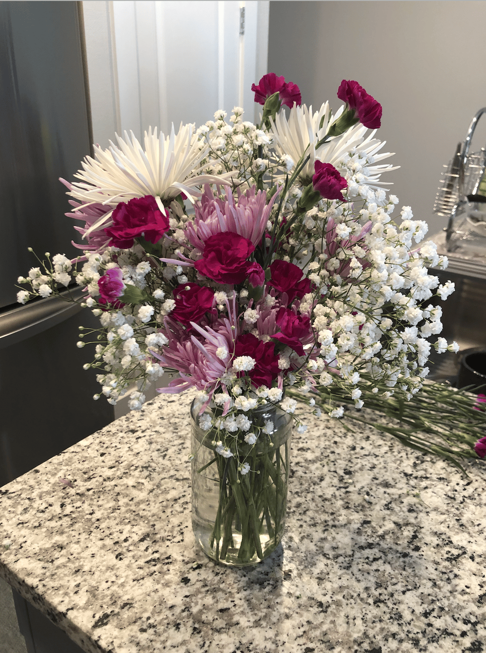 My First (and second!) Vase Arrangement - image 1 - student project