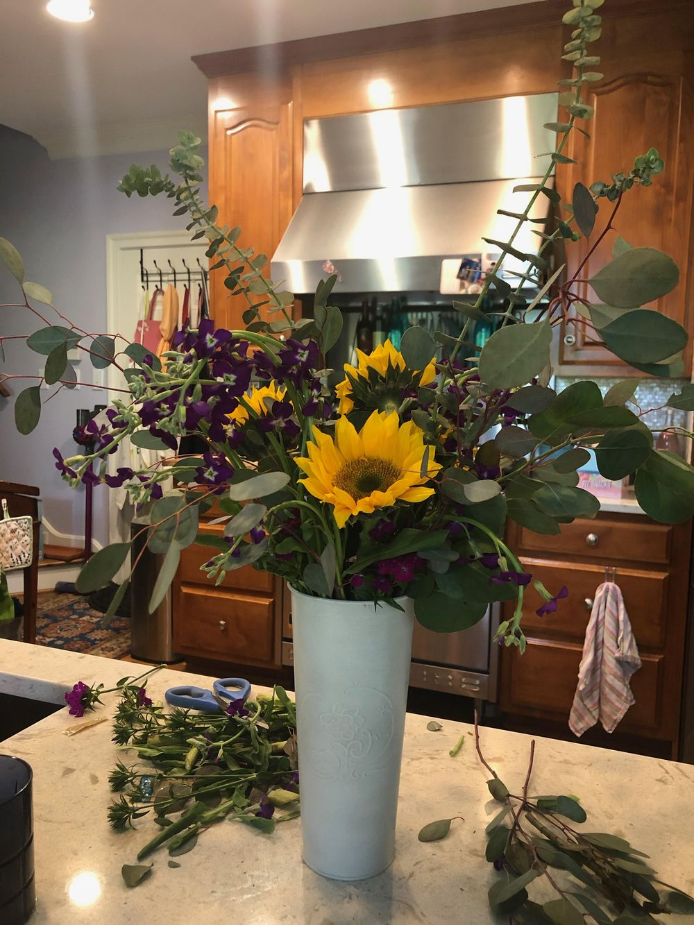My First (and second!) Vase Arrangement - image 2 - student project