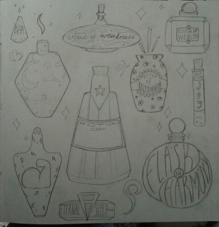 My magic potions - image 1 - student project