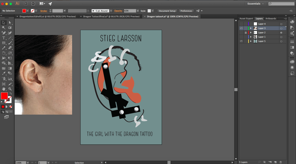 The Girl With The Dragon Tattoo - Stieg Larsson - image 14 - student project