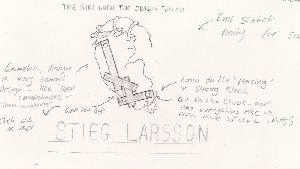 The Girl With The Dragon Tattoo - Stieg Larsson - image 7 - student project
