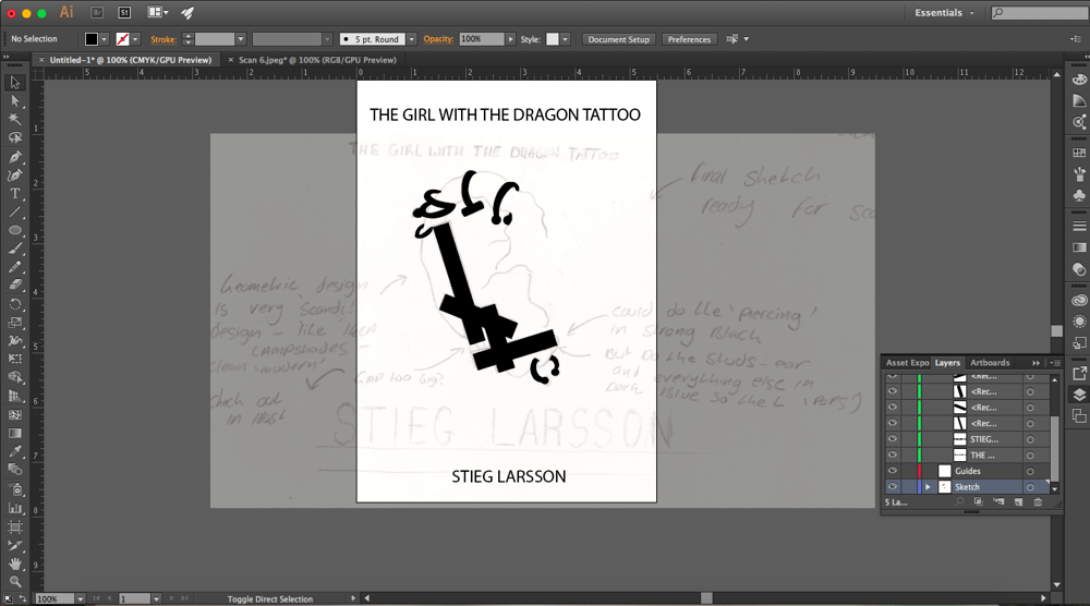 The Girl With The Dragon Tattoo - Stieg Larsson - image 11 - student project