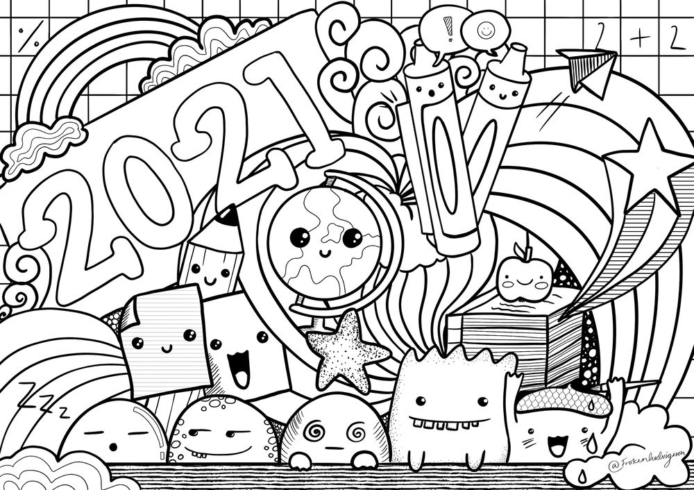 My doodle 2021 - image 1 - student project