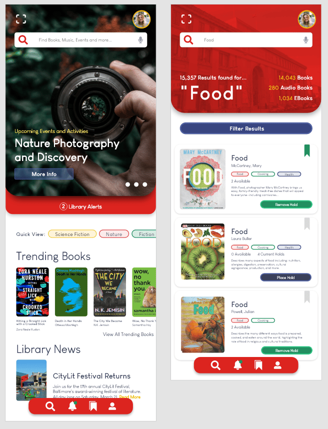 Library App - image 1 - student project