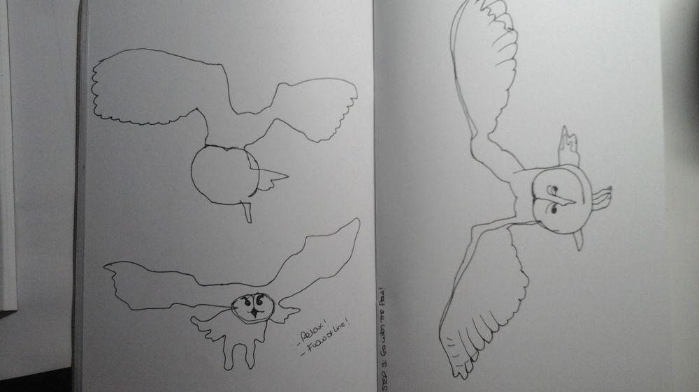Blind contour drawing - image 8 - student project