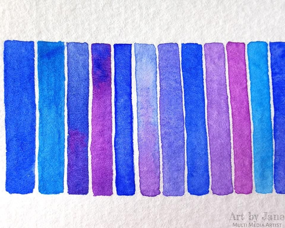 Modern Watercolor Techniques: Beginner's Level - image 5 - student project