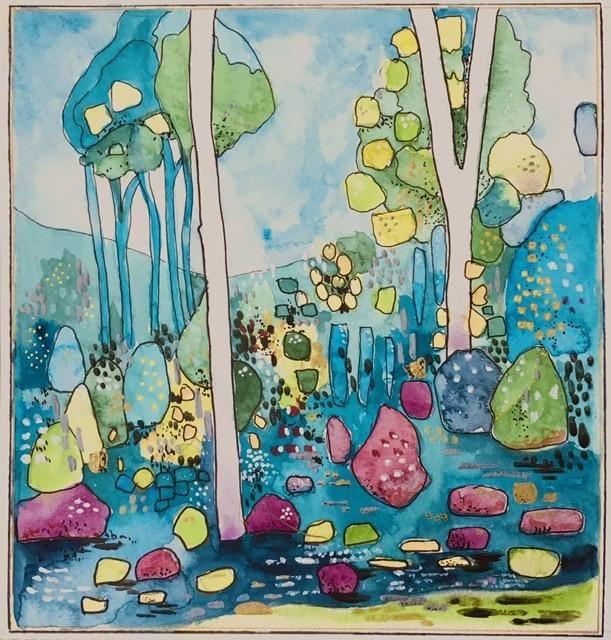 MeOwnDesigns watercolour mixed media interpretation - image 1 - student project