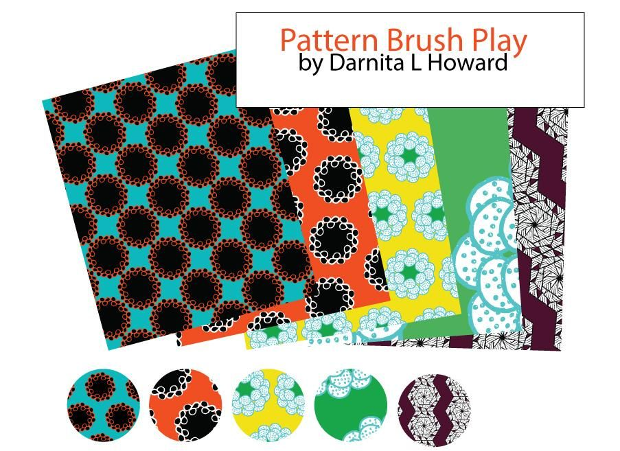 Pattern Brush Play - image 1 - student project