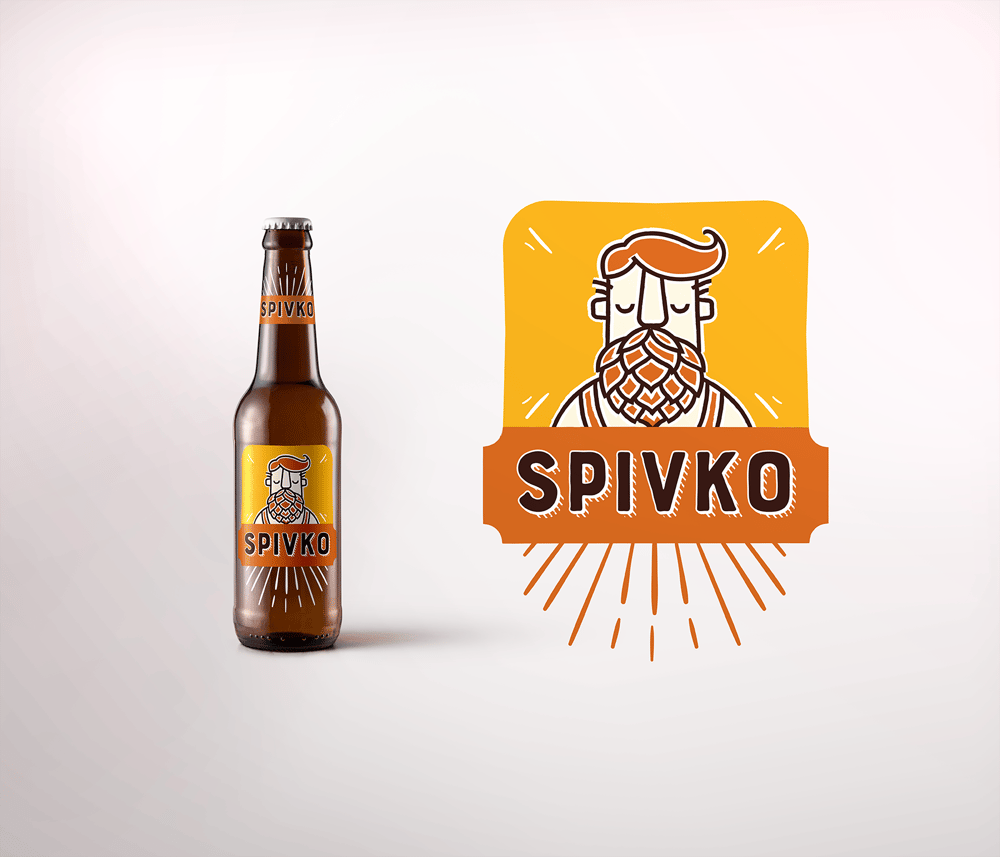 Spivko beer - image 1 - student project