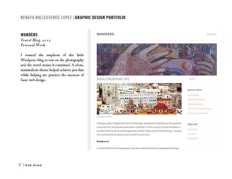 Grad School Application Portfolio - image 14 - student project