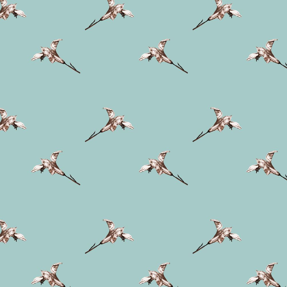 Lily pattern  - image 2 - student project