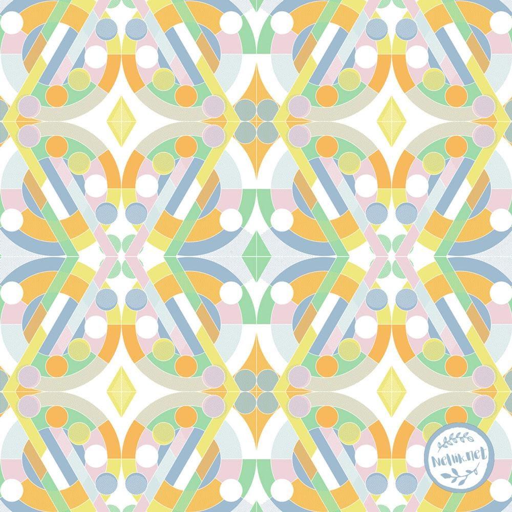 Geometric Tiles - image 8 - student project